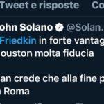 Incontro legali Freidkin Pallotta alle 16,00 orario italiano
