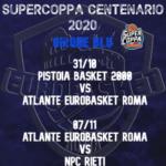 Atlante Eurobasket, ecco le date dei recuperi di Coppa