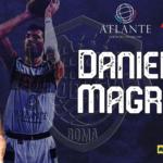 Daniele Magro è un nuovo giocatore dell'Atlante Eurobasket Roma